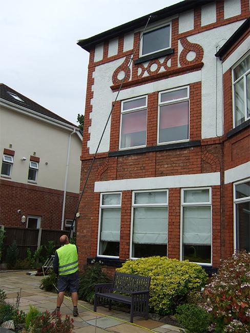 Nursing homes Window Cleaning