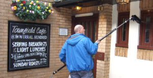 Pub Window Cleaning